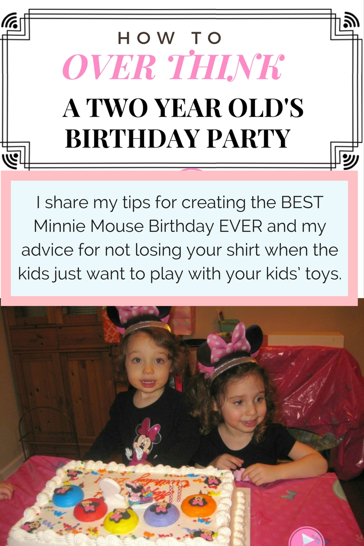 How to Over-think a Two Year Olds Birthday Party
