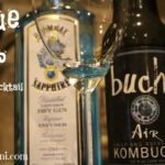 Try this deliciously healthy cocktail made with Kombucha and Bombay Sapphire. It's refreshing and packed with probiotics. Cheers!