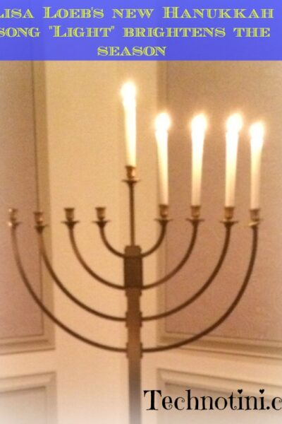 Lisa Loeb's new inspiring Hanukkah song reminds us why Hanukkah is the holiday of hope.