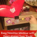 Learn how to make a super easy heart-shaped door knob for your child's Valentine's Day mailbox. They will enjoy this fun, DIY holiday craft.