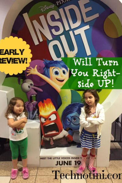 """Pixar's """"Inside Out"""" is a must-see movie experience for the whole family. Check out my tips for little ones in this movie review."""