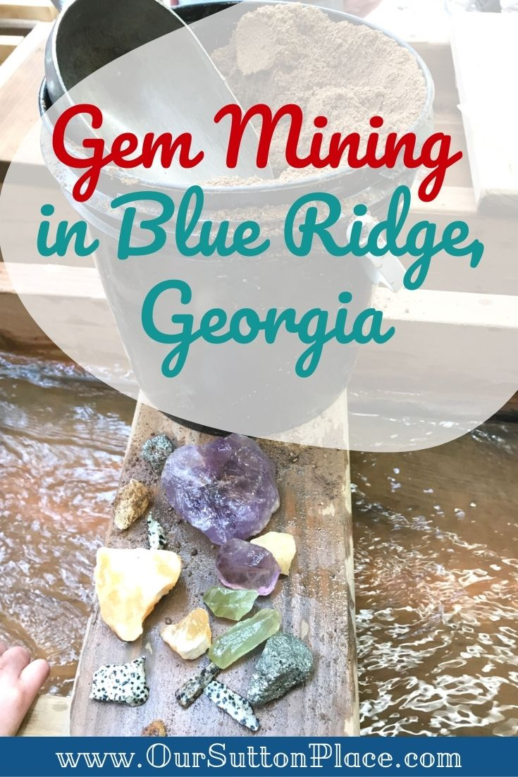 Title card for Gem Mining in Blue Ridge GA