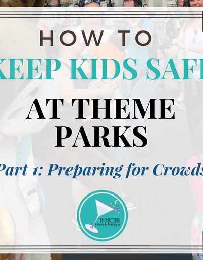 Keeping kids safe at a festival or theme park (like Walt Disney World and Universal Studios) can be a big worry, especially when those places are so crowded! But don't worry, I've been there and in this 3 part series, I've put together my favorite simple solutions to keep the whole family safe and ready for an awesome time! In Part I-I share my tips on preparing your little ones for the big crowds. By the way, my kids are a big fan of Tip # 3!