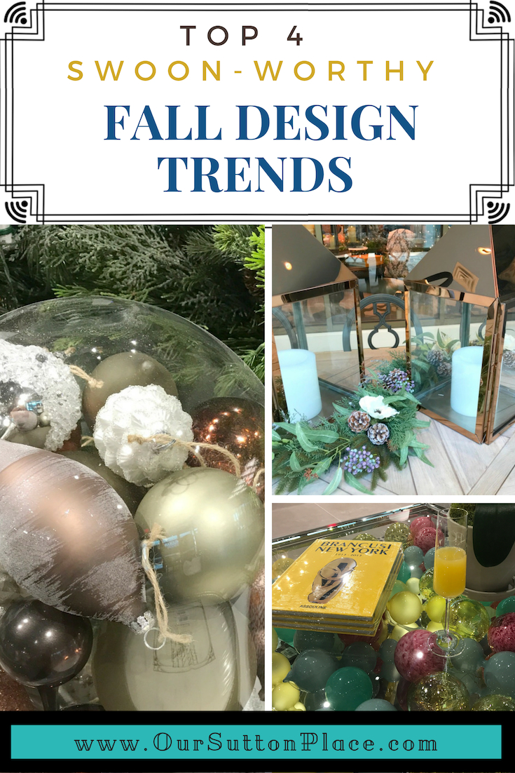 Learn what's trending in Fall and Holiday Décor this season. From cozy Hygge, to festive metallics, there are so many ways to make this season festive. I've got you covered with plenty of tips and tricks to make it easy, elegant, and even whimsical. #HyggeStyle #holidaydecor #holidaydecorating #Christmasdecorationideas