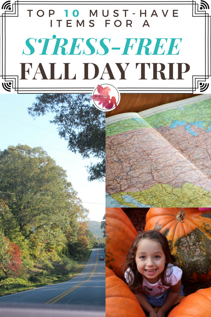 Fall is the perfect time to get outside and enjoy some fun day trips or road trips. So to make sure your next family adventure is as stress-free as possible, I've put together a Top 10 list of my favorite road trip must-haves. It includes everything from preparing for carsick kids, to kid-friendly activities, to solutions if you lose your car keys. By the way, number 8 is one of my favorite tips. #momhacks #familytraveltips #Fall