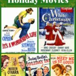 Collage of classic holiday movies