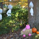 In honor of Breast Cancer Awareness Month, I created a fun and festive think pink front porch decor that will help you Believe in a Cure. Some highlights include, a unicorn pumpkin, a pink ribbon wreath, and an inspirational pink pumpkin topiary. Be sure to check out all my tips and tricks! #ThinkPink