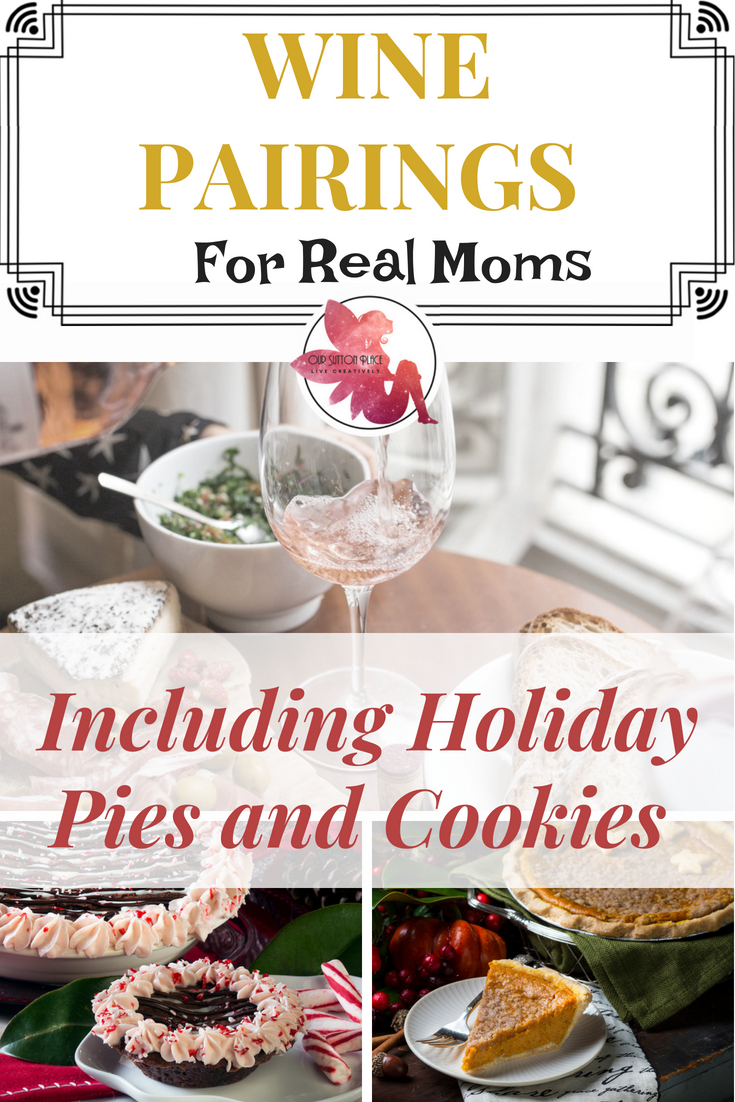 These hilarious wine pairings are perfect for real moms who have to scarf their food as they try to control the chaos of life with kids.  Have you ever paired donuts with wine? How about Girl Scout Cookies? Whether it's pizza, chicken nuggets, or Halloween candy, holiday cookies, or Thanksgiving Pie these foods are the perfect pairing for the busy mom who wants to relax with some wine and celebrate #momlife.