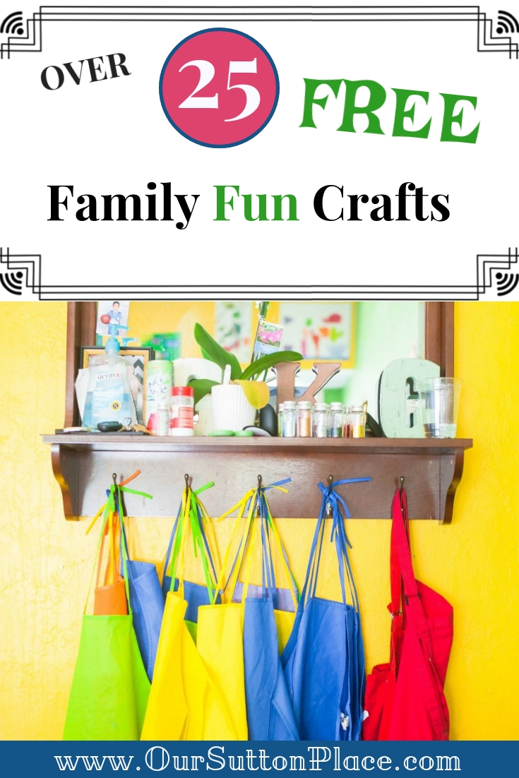 These 25 easy family fun craft ideas are all made using FREE elements from Creative market's Free Goods of the Week program. This list includes everything from magical painted rock ideas to practical planner stickers and party invitations or holiday décor. I use tip #14 every day to keep my kids motivated. It's great for the busy mom who wants to add more creativity to her family. #Ad #DIY #FreeCrafts #Kidscrafts #creativemarket #holidaycrafts