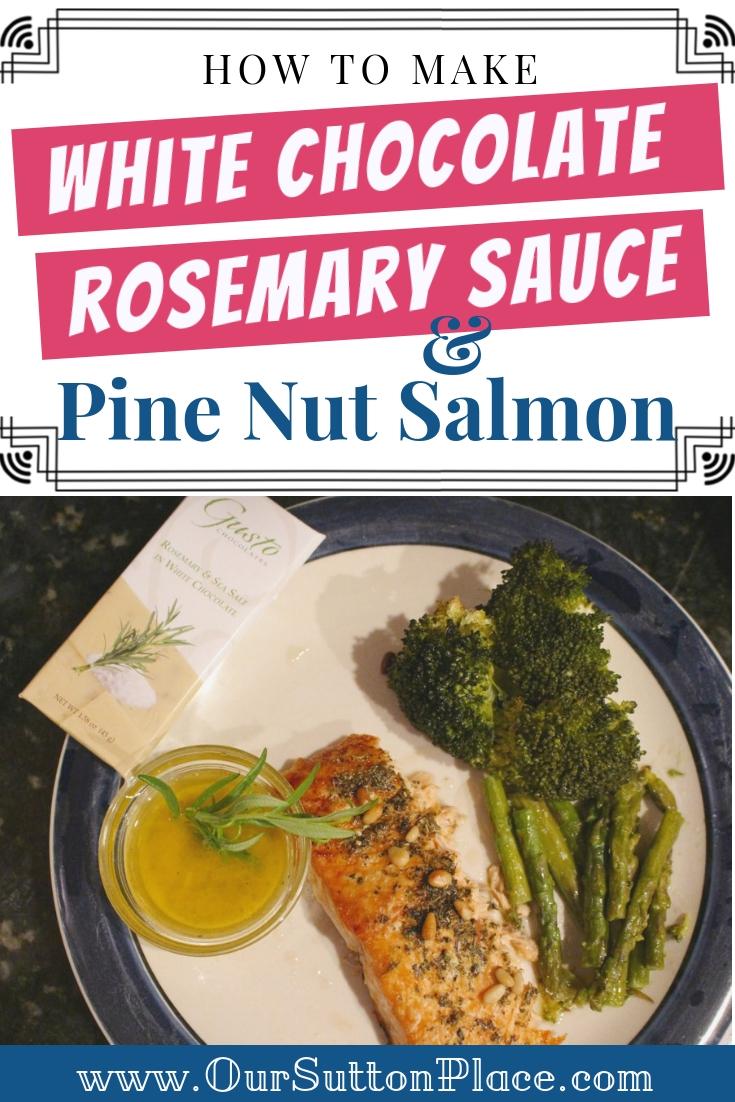 White Chocolate Rosemary Fish Sauce