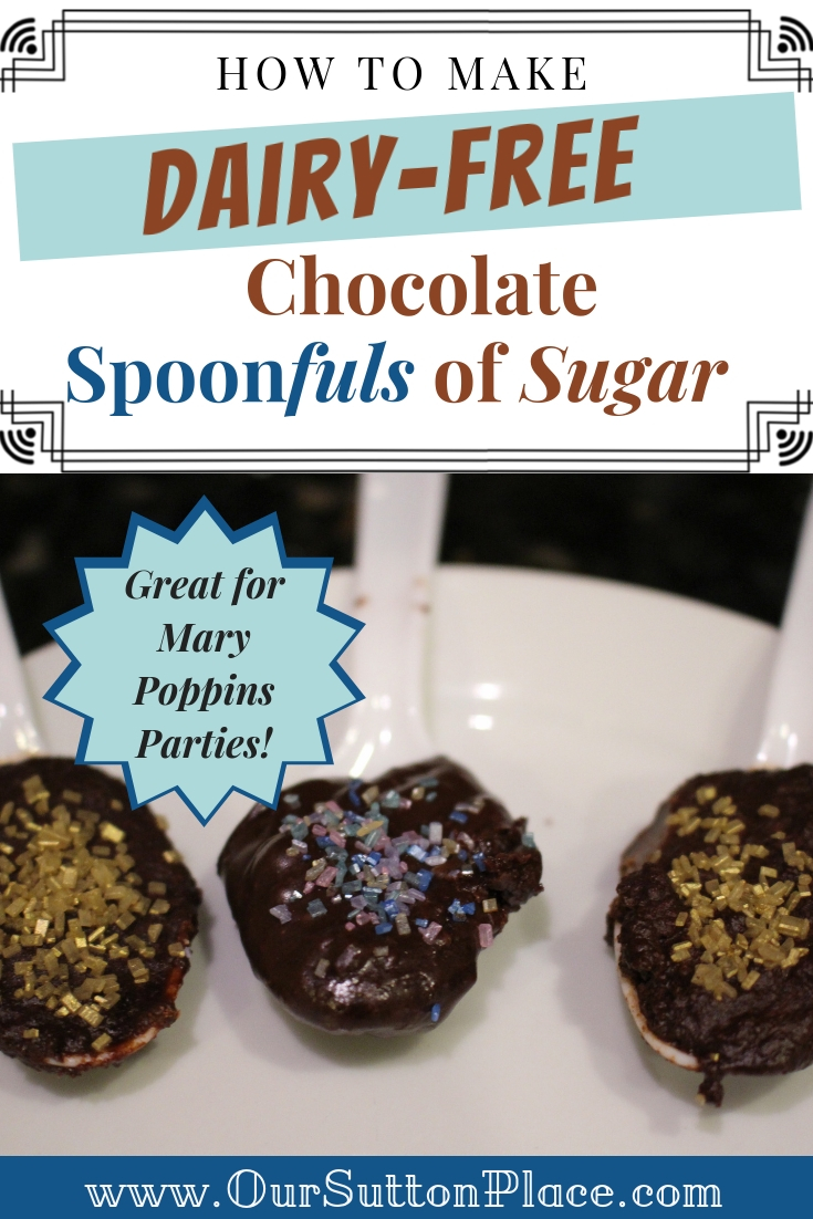 How to Make Dairy-Free Chocolate Spoons