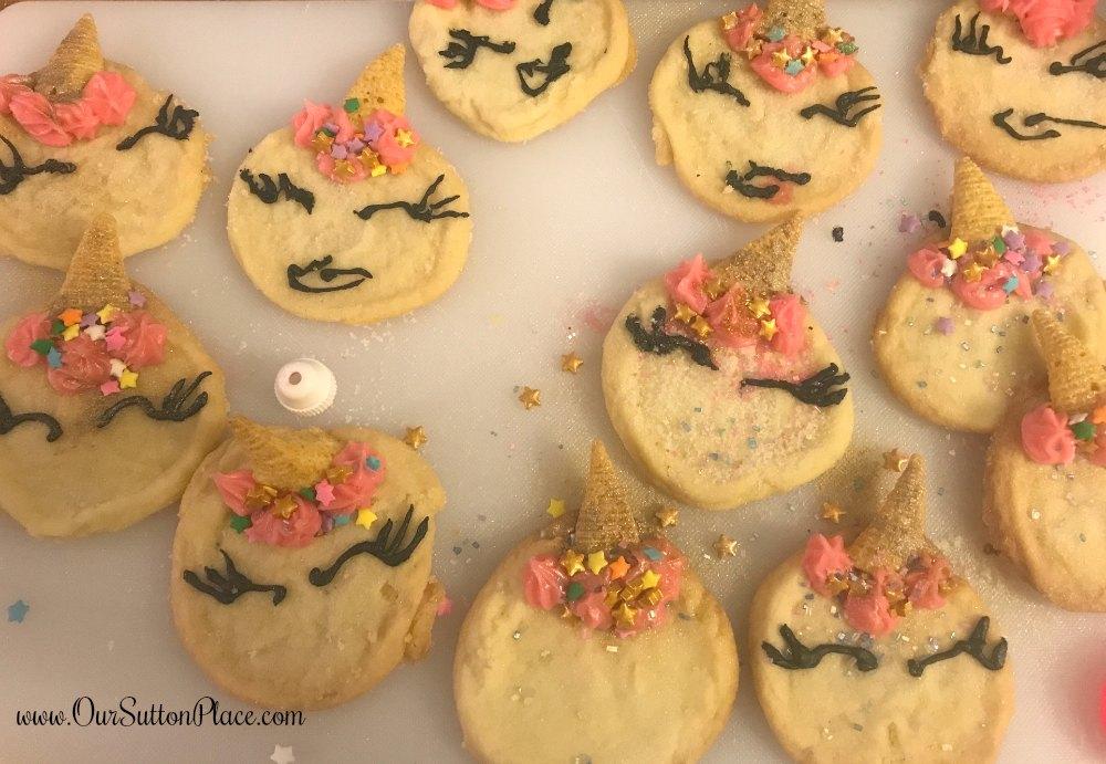 unicorn cookie decorations