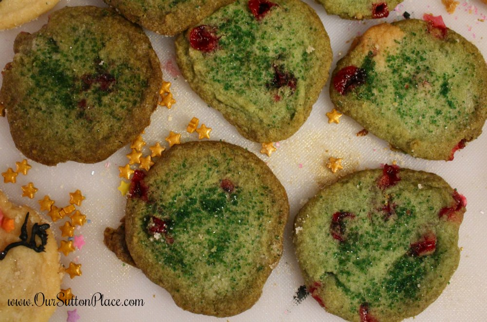 Dragon's Breath Sugar Cookies