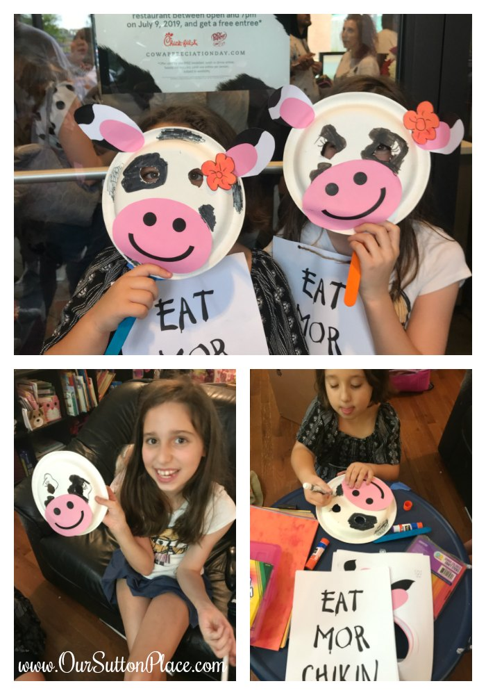 cow appreciation day costume collage