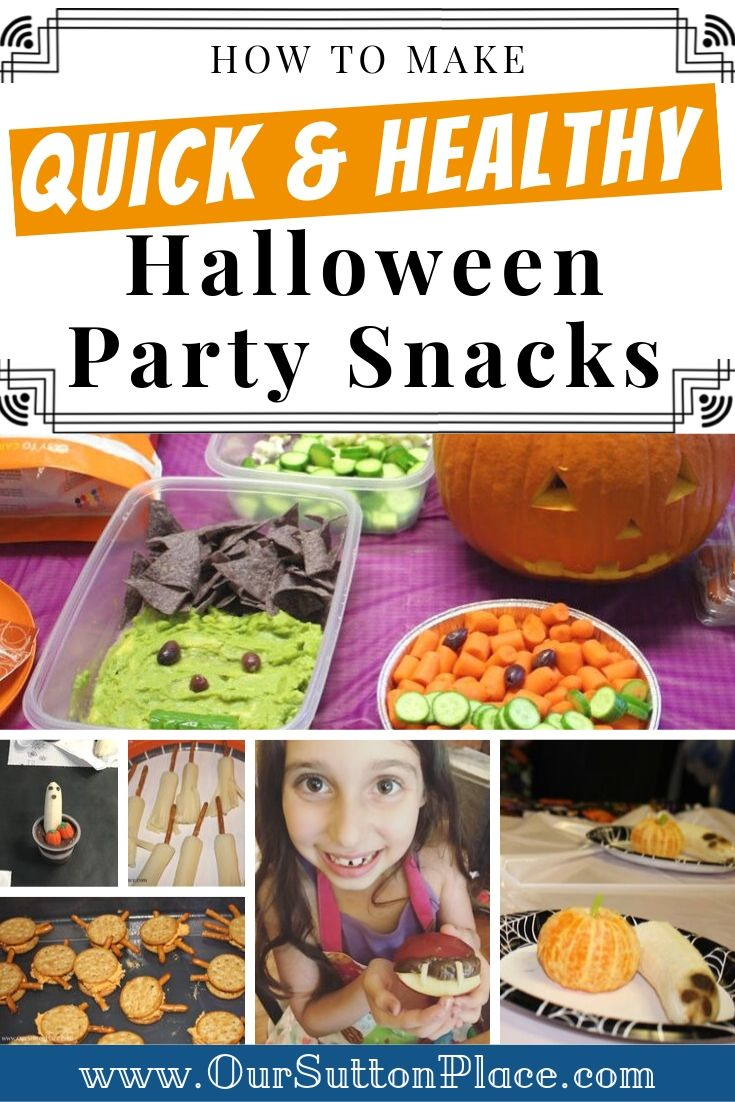 The Best Quick, Easy, and Healthy Halloween Party Snacks
