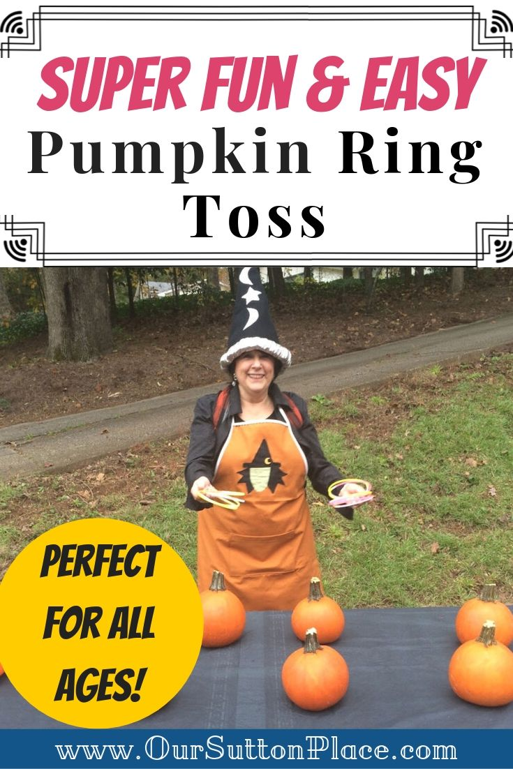 How to Make This Fun and Easy Pumpkin Ring Toss Game