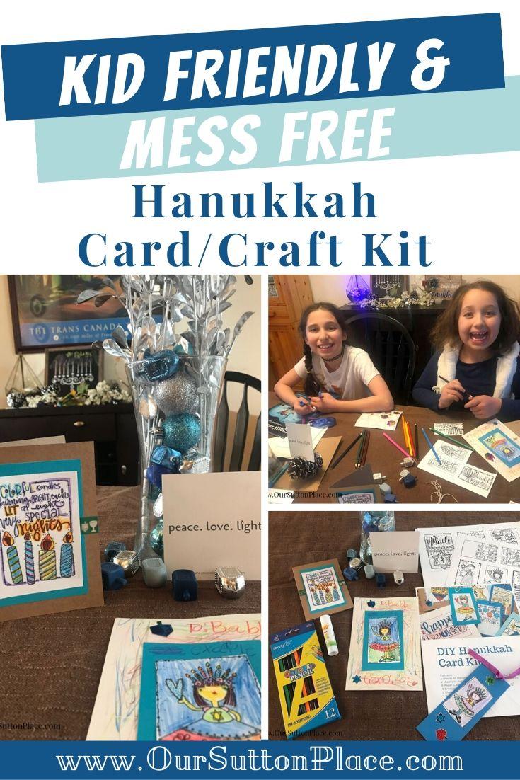 Collage of Hanukkah Crafts