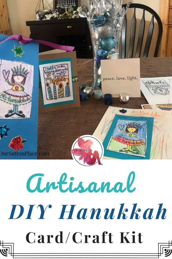 How to Make Artisanal DIY Hanukkah Cards