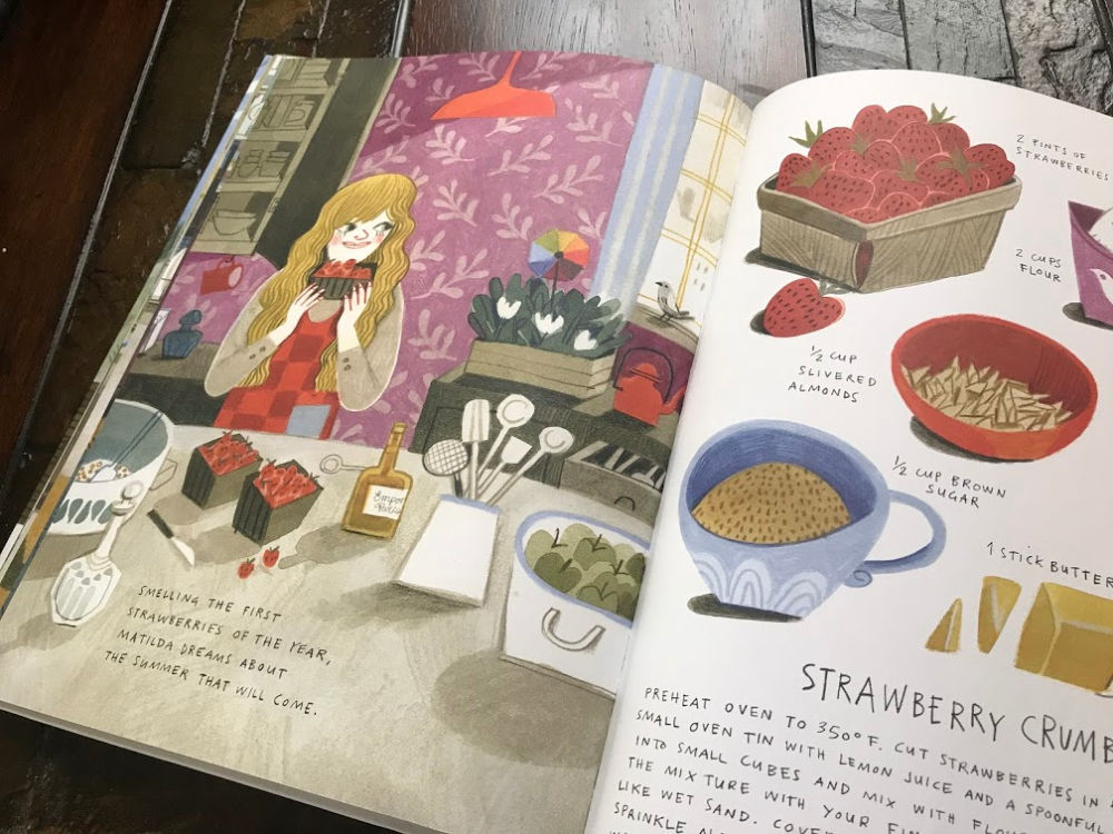 A strawberry recipe from What's Cooking at 10 Garden Street cookbook