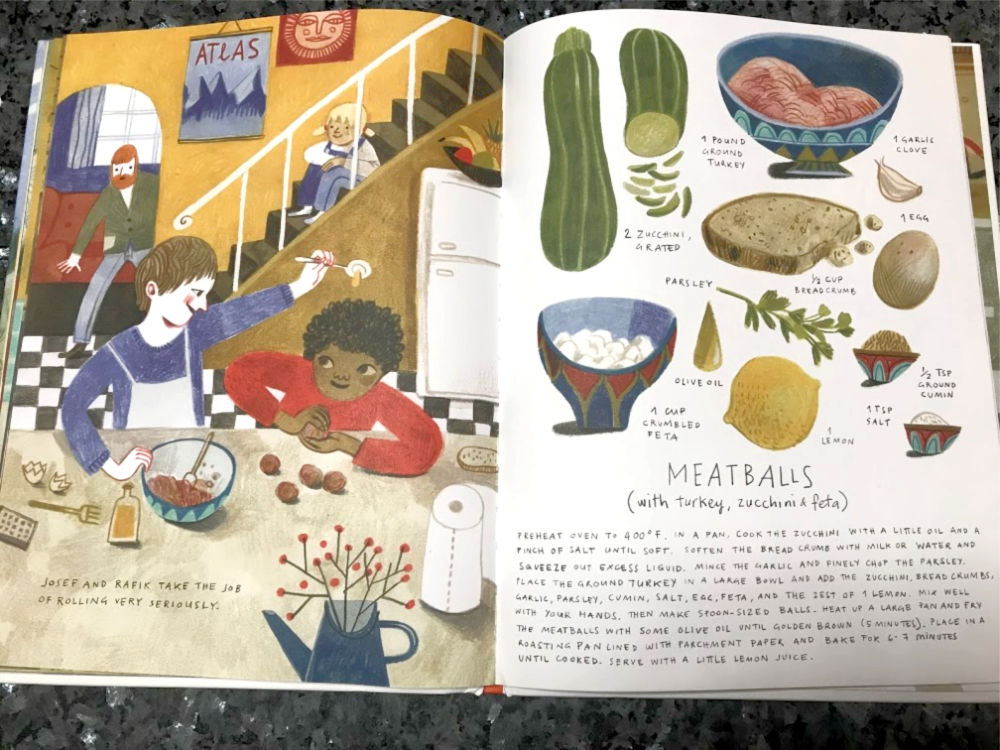 Meatball recipe from What's Cooking at 10 Garden Street Cookbook