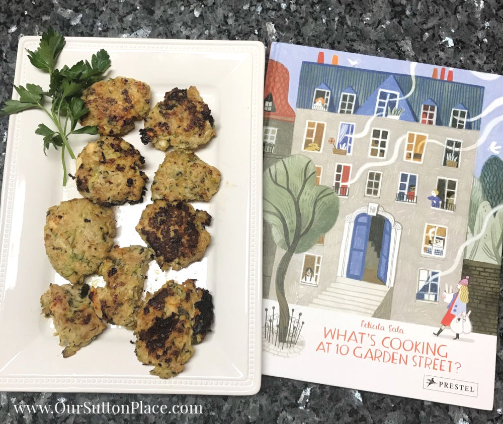 Zesty Zucchini Turkey Meatballs and the What's Cooking at 10 Garden Street cookbook