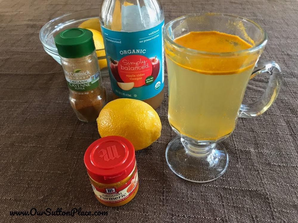 detox drink ingredients