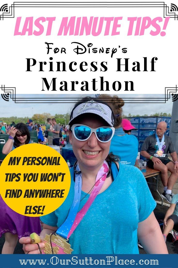 Last minute tips for Disney's Princess Half Marathon