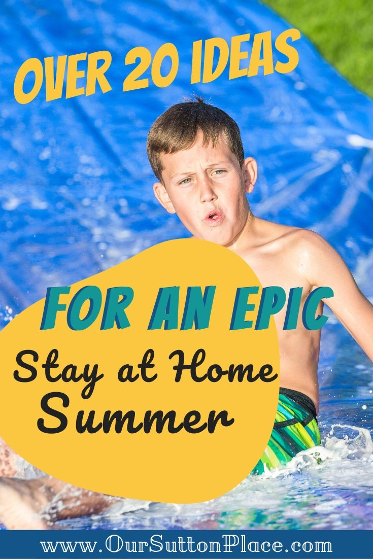 Title card for Epic Stay At Home Summer