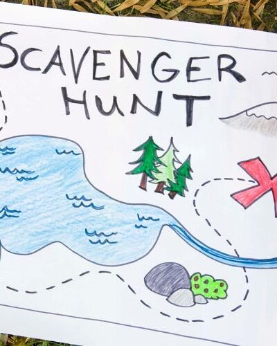 Scavenger Hunt idea for stay at home summer