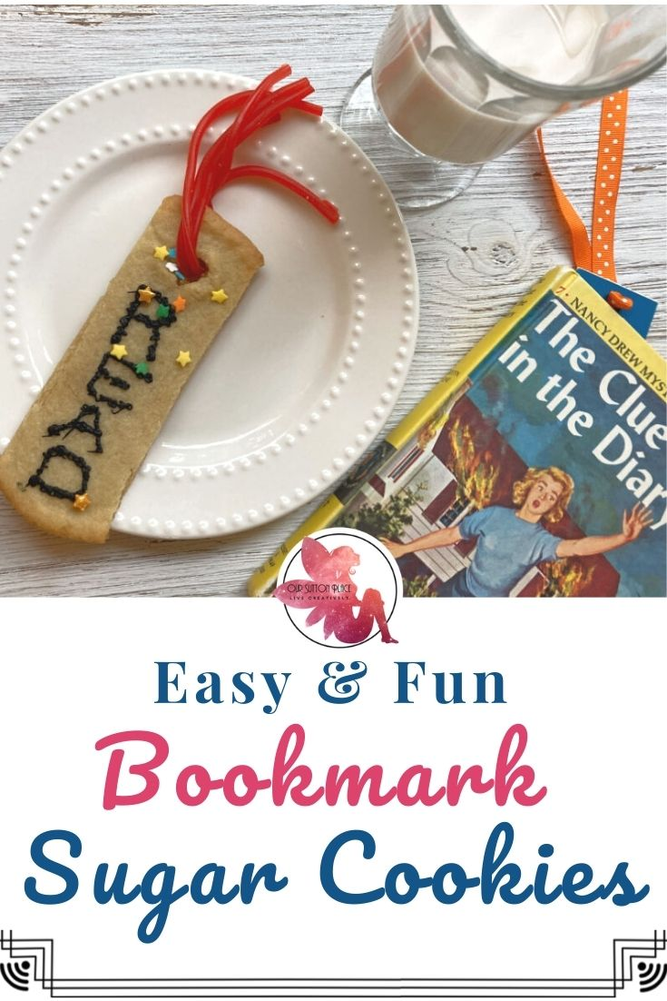 How to Make Super Easy Bookmark Sugar Cookies