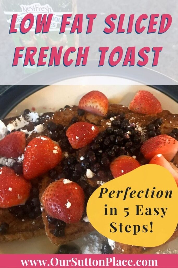 Title card for French Toast recipe