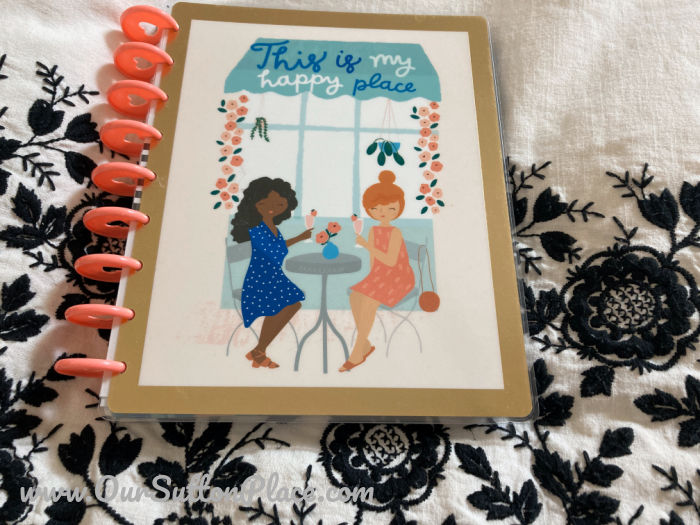 Cover of the new Happy Planner Guided Journal Happy Place