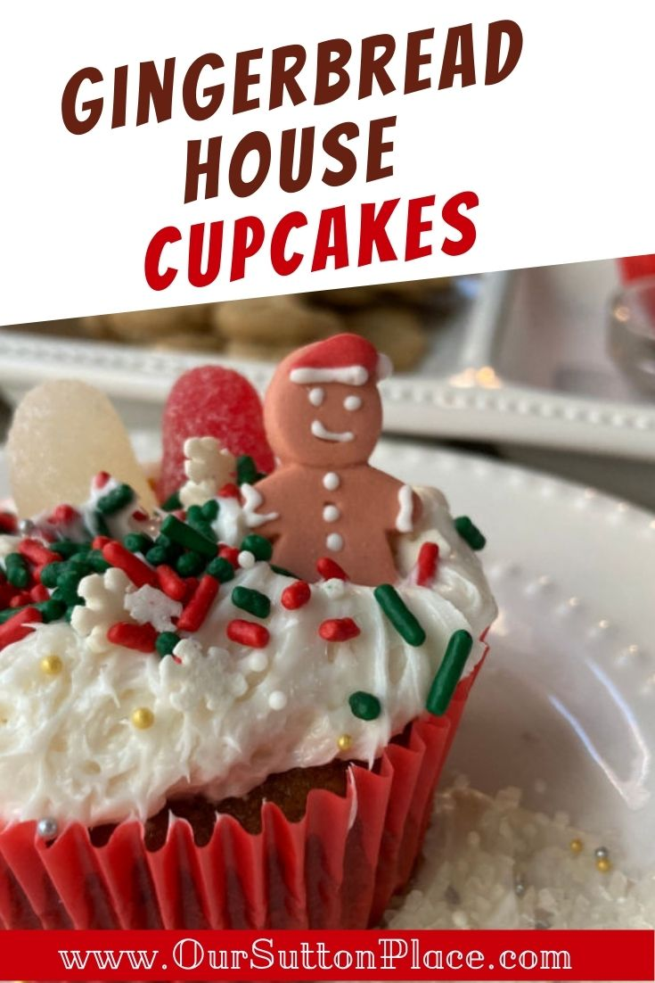 How to Make Easy and Delicious Gingerbread House Cupcakes