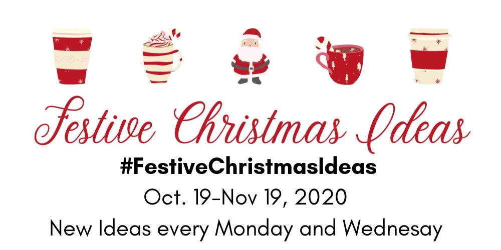 Title Card for Festive Christmas Ideas