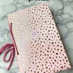 flatlay of the elegant tween DIY stickerbook